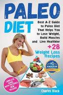 Paleo Diet  Black White Edition  Book