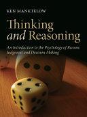 Thinking and Reasoning ebook