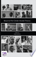 Beyond First Order Model Theory Volume I