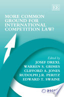 More Common Ground For International Competition Law