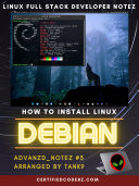 How To Download and Install Linux Debian Operating System AdVanZd_NoteZ #3