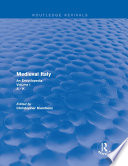 Routledge Revivals Medieval Italy 2004