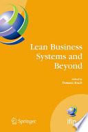 Lean Business Systems And Beyond Book PDF