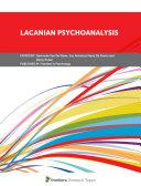 Lacanian Psychoanalysis