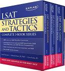 Kaplan Lsat Strategies And Tactics Complete 3 Book Series