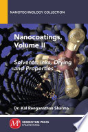 Nanocoatings, Volume II