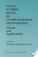 Fuzzy If Then Rules In Computational Intelligence Book PDF