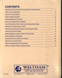 The 21st Annual Waltham OSU Symposium for the Treatment of Small Animal Diseases Book