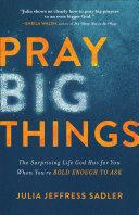 Pray Big Things Pdf/ePub eBook