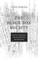The Black Box Society Pdf/ePub eBook