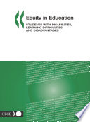 Equity in Education Students with Disabilities  Learning Difficulties and Disadvantages Book