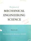 Journal of Mechanical Engineering Science