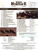 Rural Heritage - Band 32 - Seite 131