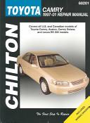 Chilton s Toyota Camry 1997 01 Repair Manual