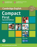 Compact First Student s Book with Answers with CD ROM