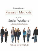 Foundations of Research Methods for Social Workers