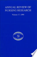 Annual Review Of Nursing Research Volume 17 1999