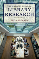 The Oxford Guide to Library Research [Pdf/ePub] eBook
