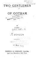 Two Gentlemen of Gotham