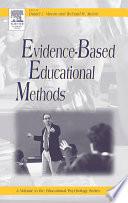 Evidence-based Educational Methods