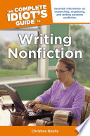 The Complete Idiot S Guide To Writing Nonfiction
