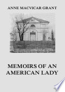 Memoirs of an American Lady Book