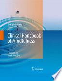 """Clinical Handbook of Mindfulness"" by Fabrizio Didonna"