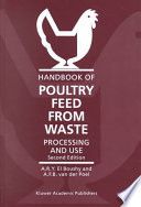 Handbook Of Poultry Feed From Waste Book PDF