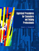 Appraisal Procedures For Counselors And Helping Professionals PDF