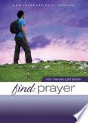 Niv Find Prayer Verselight Bible Ebook