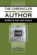 The Chronicler as Author