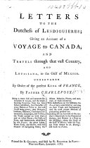 """Journal of a Voyage to North-America ... In a series of letters to the Duchess of Lesdiguieres, etc. A translation of the """"Journal d'un voyage dans l'Amérique Septentrionnale."""" ebook"""