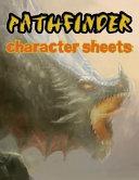 Character Sheets Pathfinder