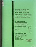 Telecommunications  Electronic Media  and Global Communications