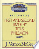 Thru The Bible Vol 50 The Epistles 1 And 2 Timothy Titus Philemon
