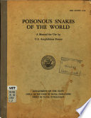Poisonous Snakes of the World