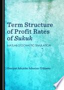 Term Structure of Profit Rates of Sukuk