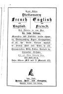 Dictionary  French and English  English and French