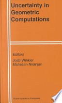 Uncertainty in Geometric Computations Book