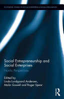 Social Entrepreneurship and Social Enterprises