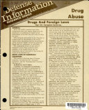 Defense information guidance series
