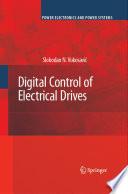 Digital Control Of Electrical Drives Book PDF