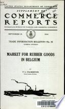 Market for Rubber Goods in Belgium