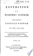 The Expedition Of Humphry Clinker PDF