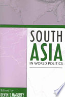 South Asia in World Politics