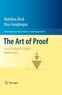 Pdf The Art of Proof Telecharger