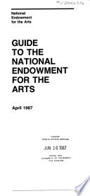 Guide to the National Endowment for the Arts