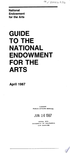 Guide+to+the+National+Endowment+for+the+Arts