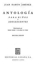 Antolog  a Para Ni  os Y Adolescentes