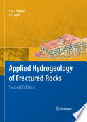 Applied Hydrogeology Of Fractured Rocks Book PDF